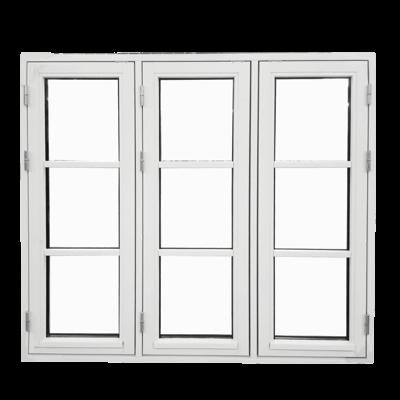 sidehaengt vindue med ni ruder