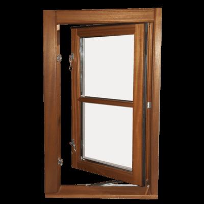 Sidestyret vindue bagfra