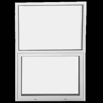 Topstyret vindue med fast vindue